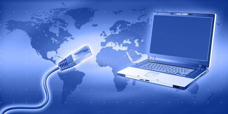 Tecnologia del Internet illustrazione vettoriale