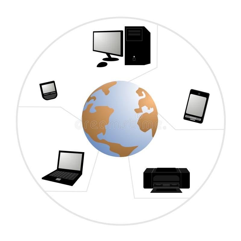 Tecnologia dell'icona royalty illustrazione gratis