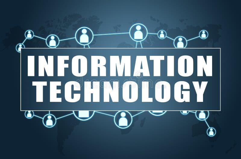 Tecnologia dell'informazione illustrazione vettoriale