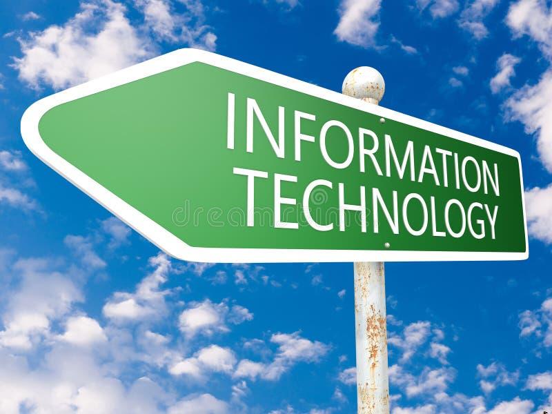 Tecnologia dell'informazione illustrazione di stock