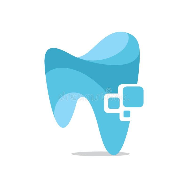Tecnologia dentaria royalty illustrazione gratis