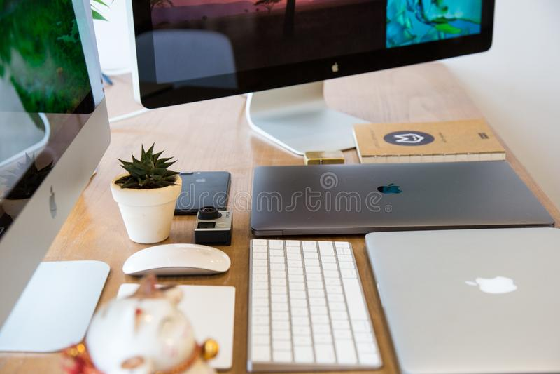 Tecnologia Di Apple Sul Desktop Dominio Pubblico Gratuito Cc0 Immagine