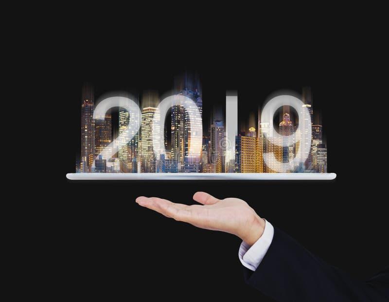 tecnologia di realtà aumentata 2019, nuova tecnologia e nuovo concetto di investimento aziendale di tendenza fotografia stock libera da diritti