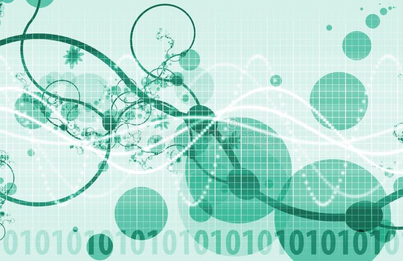 Tecnologia di scienza medica illustrazione di stock