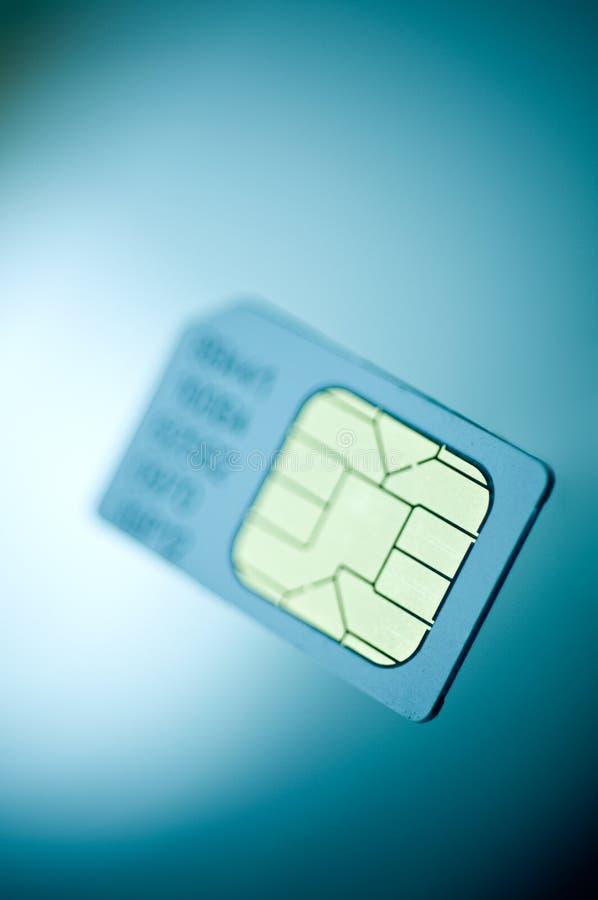 Tecnologia do cartão de Sim imagens de stock