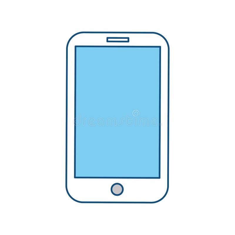 Tecnologia do móbil de Smartphone ilustração royalty free
