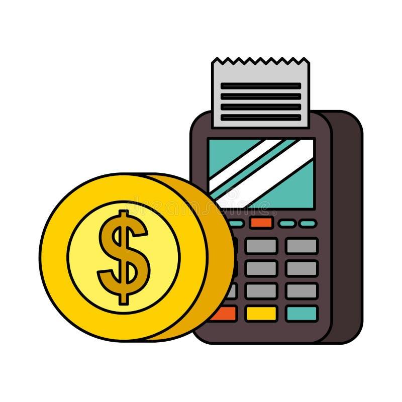 Tecnologia do pagamento de NFC imagens de stock