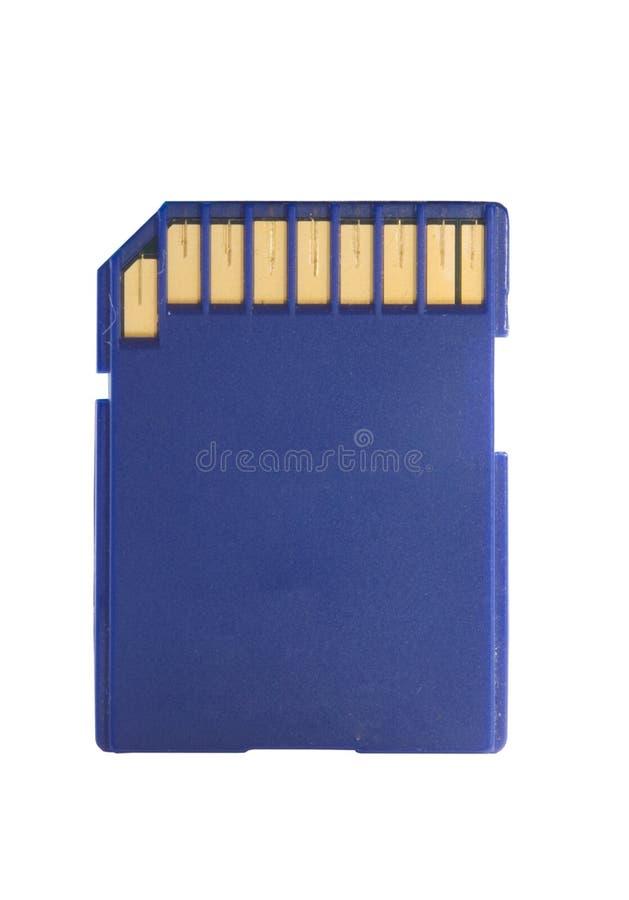 Tecnologia dos dados do cartão de memória imagem de stock