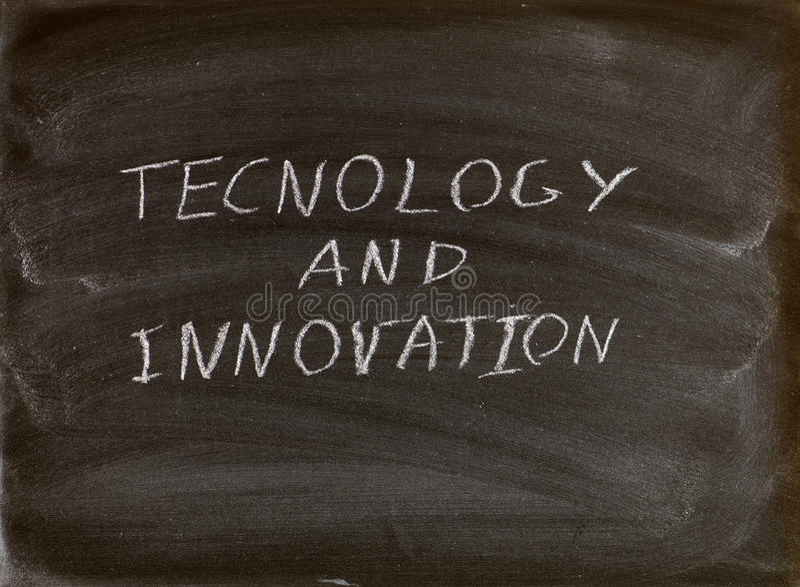 Tecnologia e inovação imagens de stock