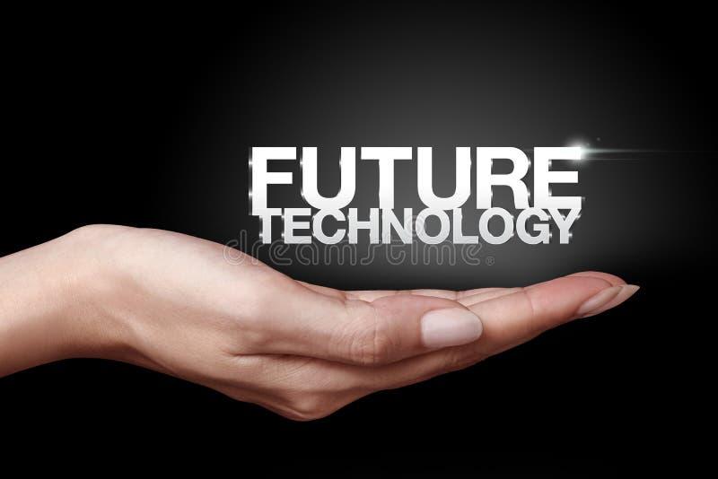 Tecnologia futura fotografia stock