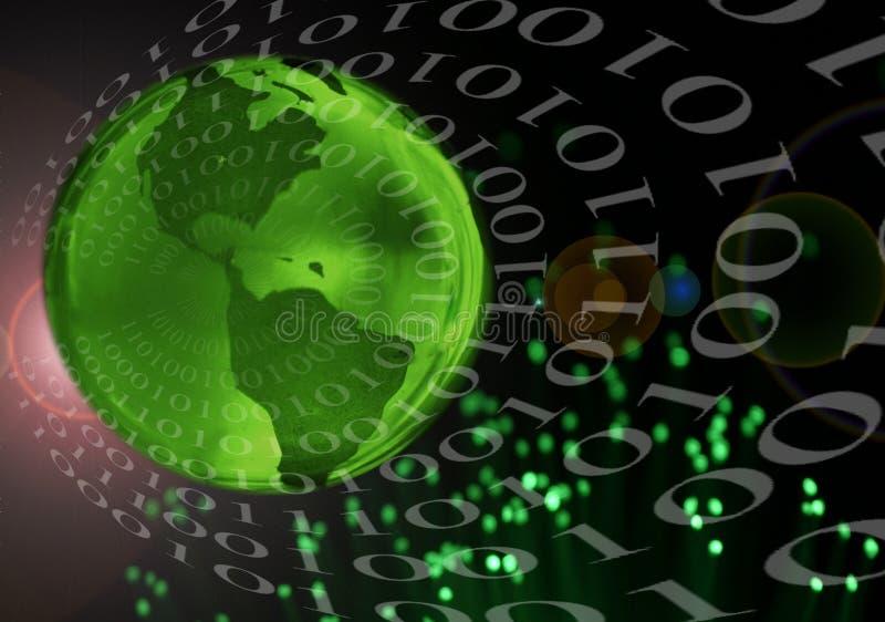 Tecnologia global ilustração stock