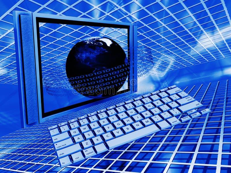 Tecnologia globale illustrazione di stock