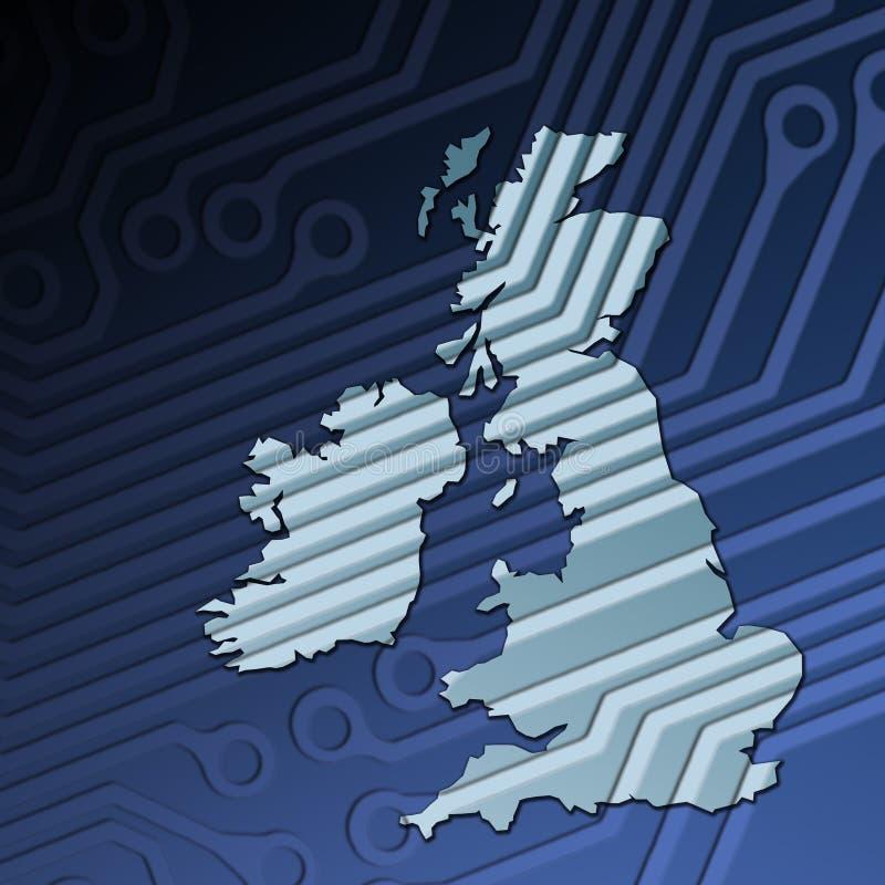 Tecnologia Gran-Bretagna Immagini Stock Libere da Diritti