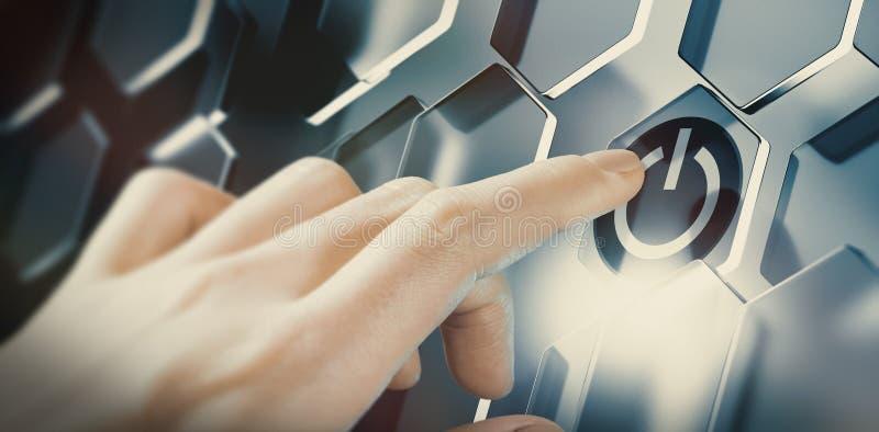 Tecnologia inovativa, inovação tecnológica fotografia de stock royalty free