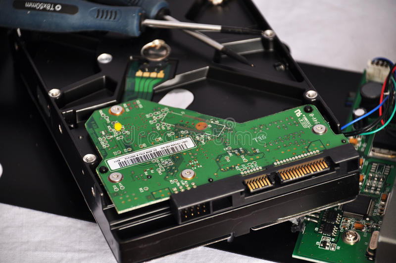 Tecnologia interna 2 fotografia stock libera da diritti