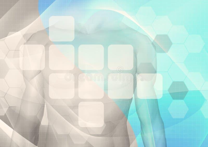 Tecnologia medica   royalty illustrazione gratis