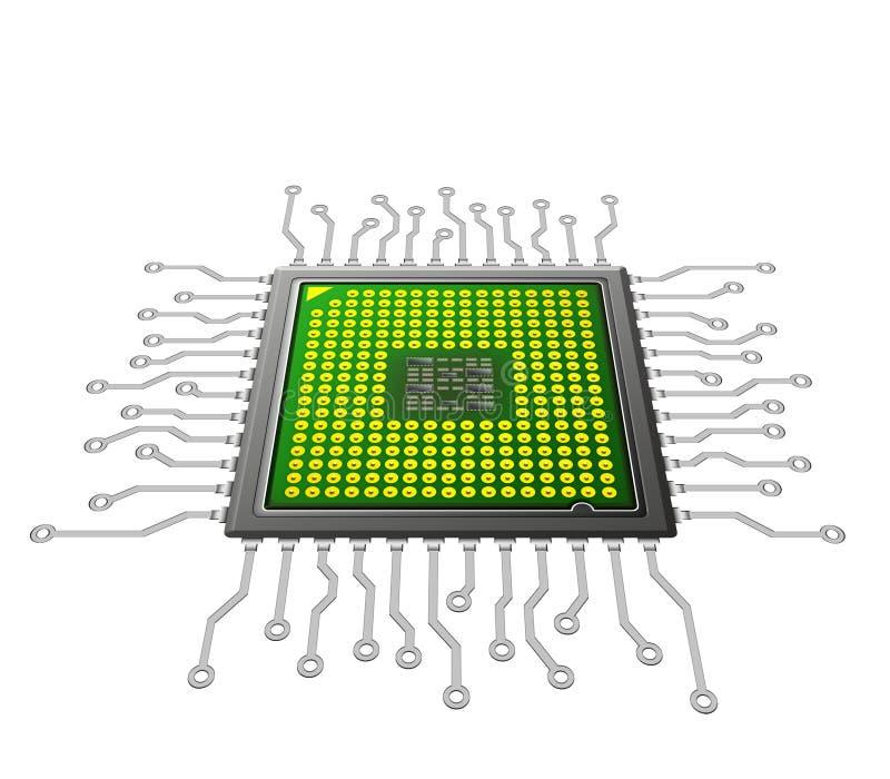 Tecnologia Nano ilustração stock