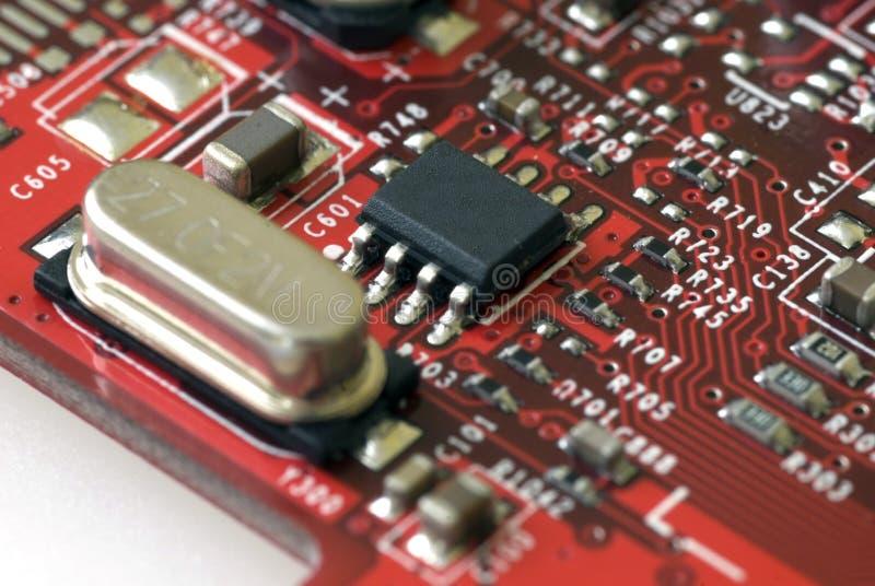 Tecnologia - placa gráfica imagem de stock