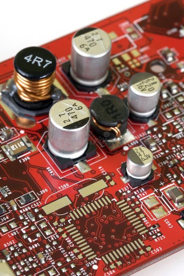 Tecnologia - placa gráfica foto de stock royalty free