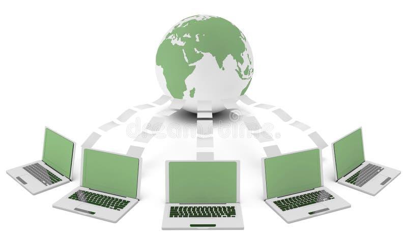 Tecnologia verde illustrazione vettoriale