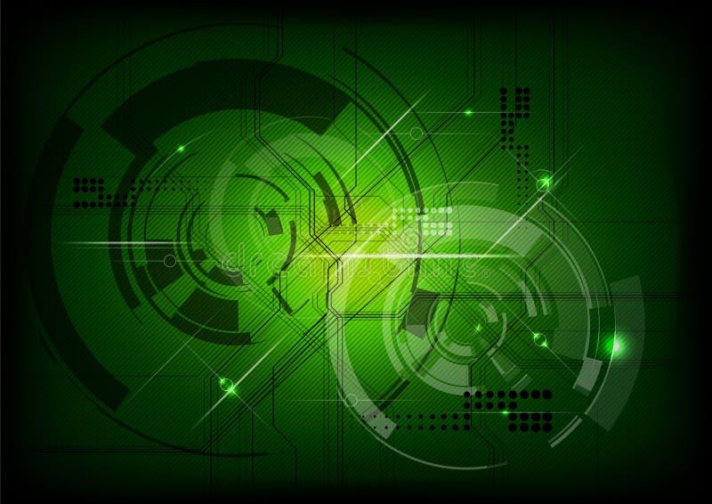 Tecnologia verde ilustração do vetor