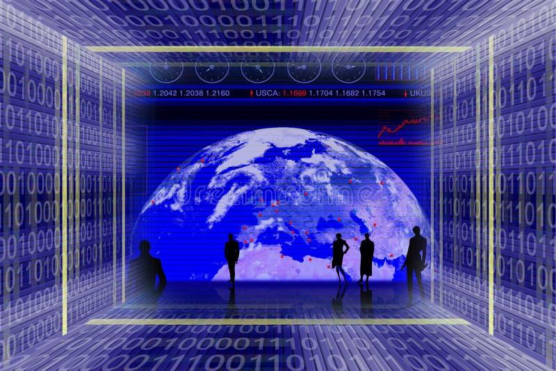 Tecnologias da informação ilustração stock