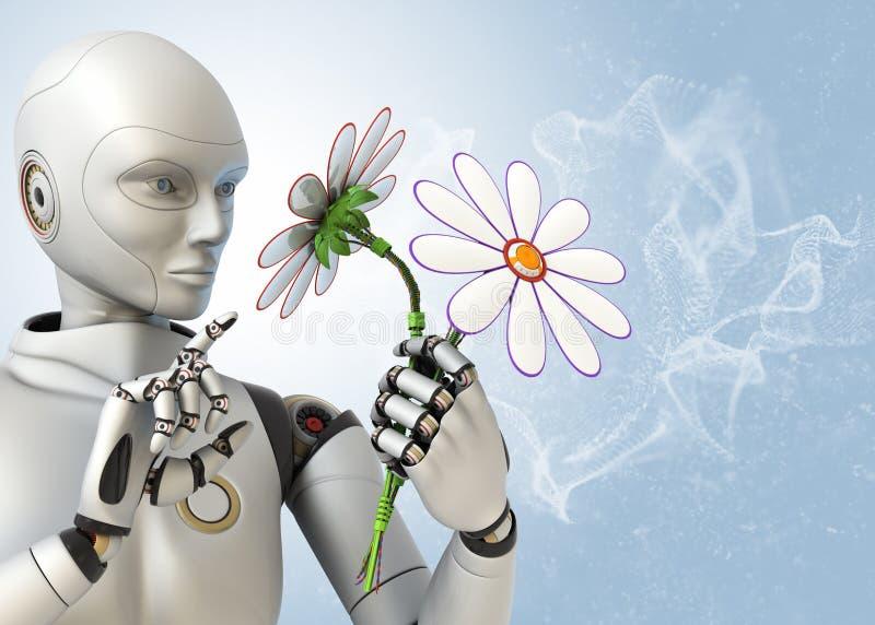 Tecnologias futuristas ilustração do vetor
