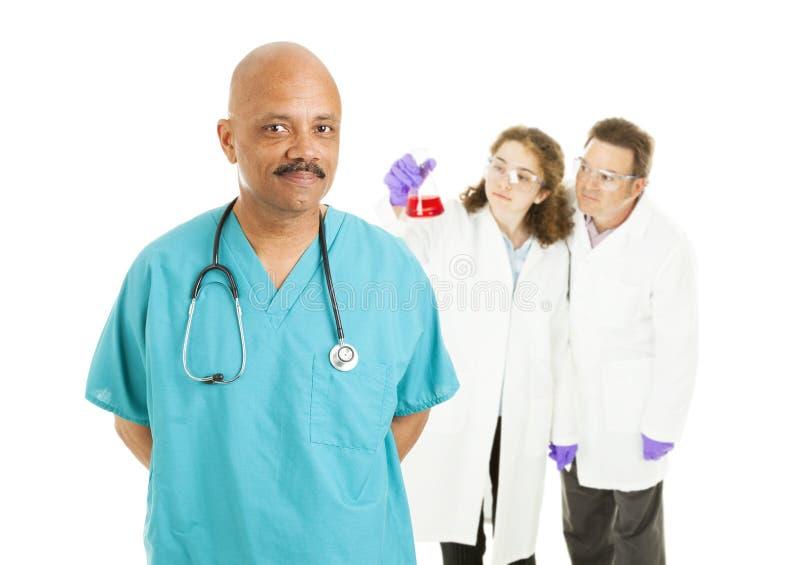 Tecnologie del laboratorio e del chirurgo immagine stock libera da diritti