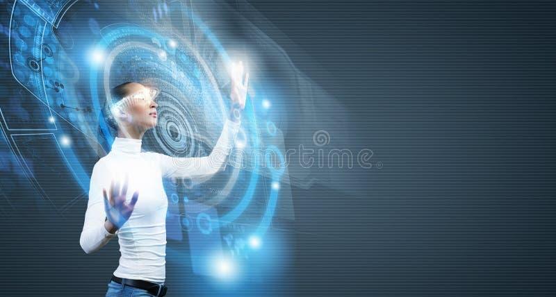 Tecnologie future fotografia stock libera da diritti