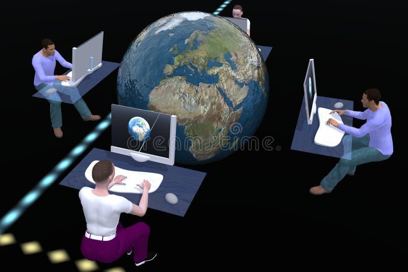 Tecnologie informatiche illustrazione di stock