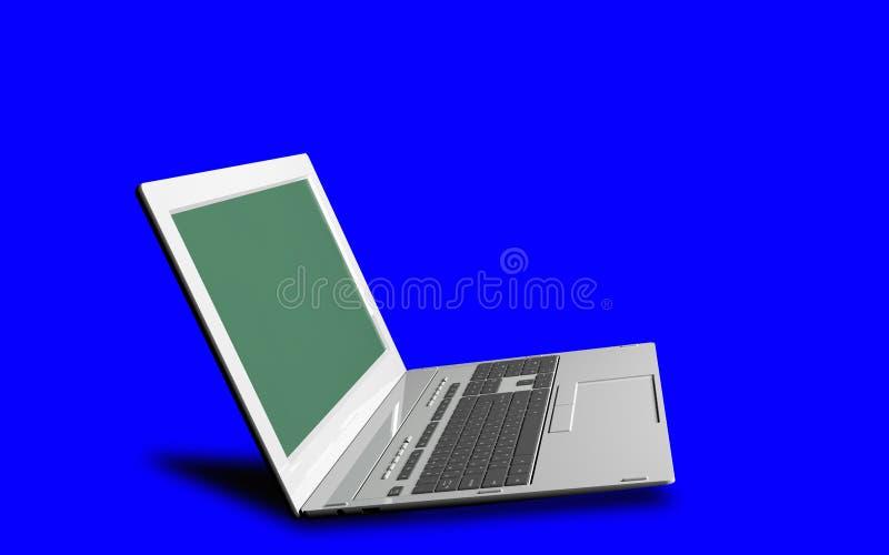 tecnologie innovarici di Internet del computer per l'affare royalty illustrazione gratis