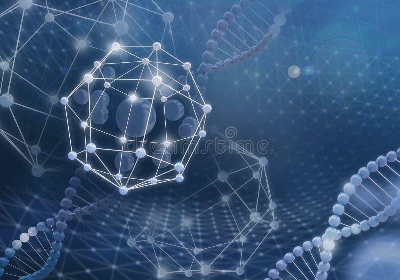 Tecnologie innovarici nella scienza e nella medicina fotografie stock libere da diritti