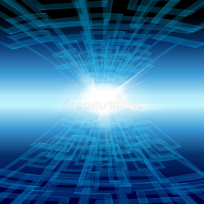 Tecnology background stock illustration