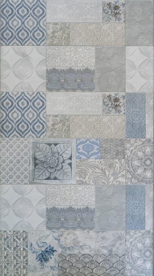 Tecture плитки мозаики, каменная текстура, текстура плитки стоковые фото