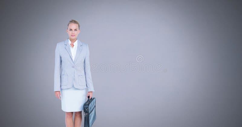 teczka bizneswoman obraz royalty free