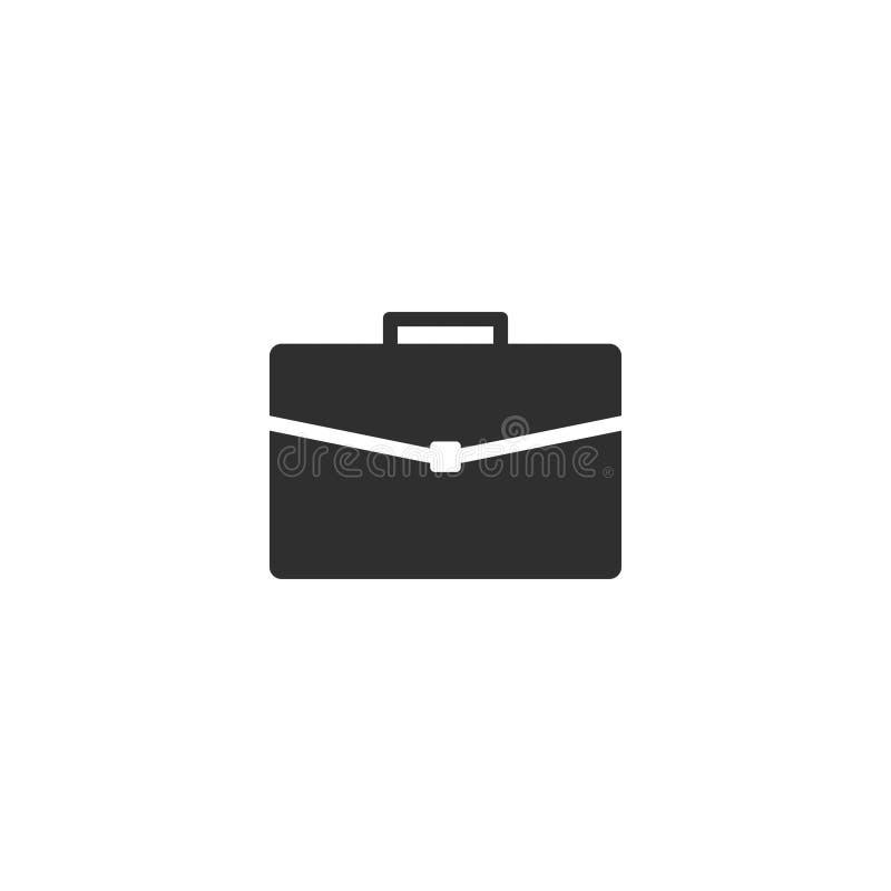Teczki ikony wektor odizolowywający z płaskim modnym stylem 6 royalty ilustracja