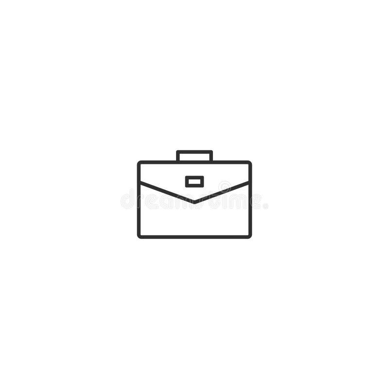 Teczki ikony wektor odizolowywający z płaskim modnym stylem 8 ilustracja wektor