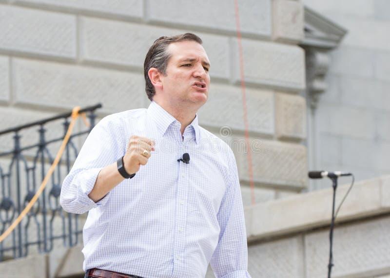 Ted Cruz - pro raduno della famiglia fotografia stock