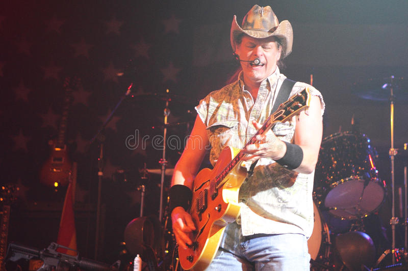 Download Ted Nugent editorial photo. Image of guitarist, rock - 22350496