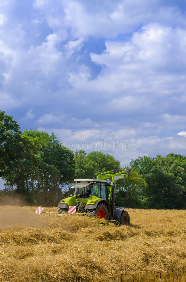 Download Tedder (machine) stock photo. Image of countryside, nature - 33527840