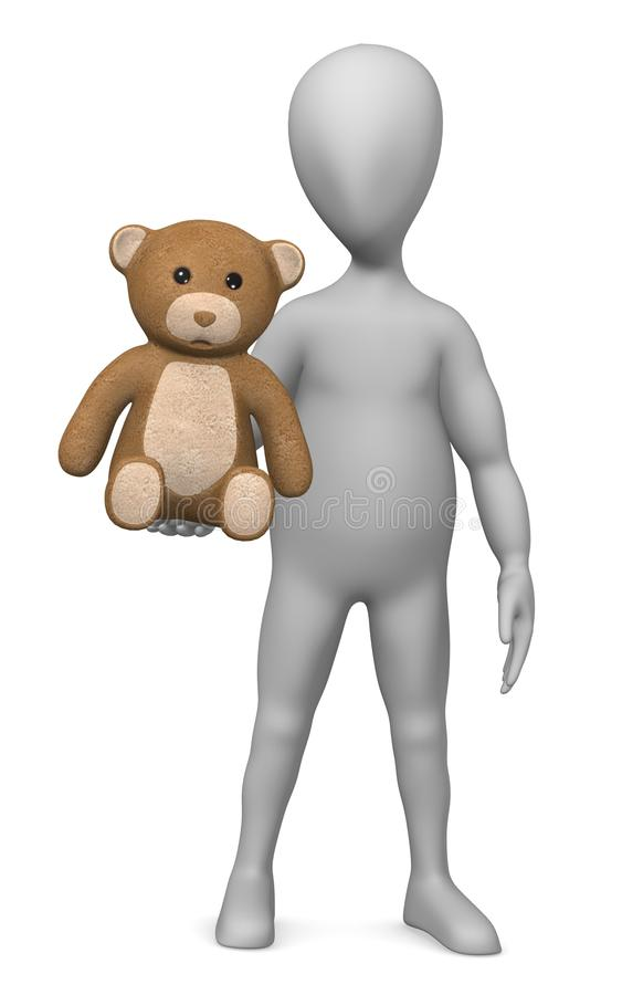 Download Teddy stock illustration. Image of nice, collection, male - 14856171