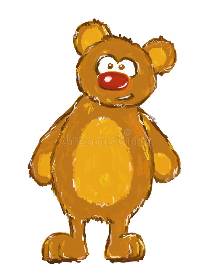 teddy διανυσματική απεικόνιση