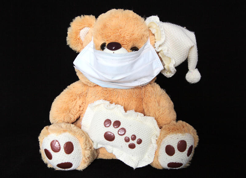 Download Teddy stock image. Image of influenza, play, isolated - 25480793