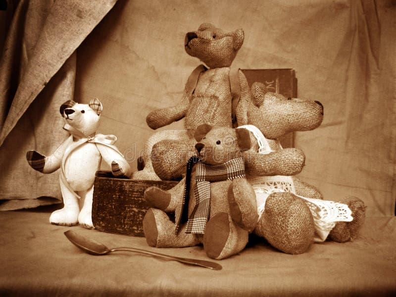 Teddy 5 stock afbeeldingen