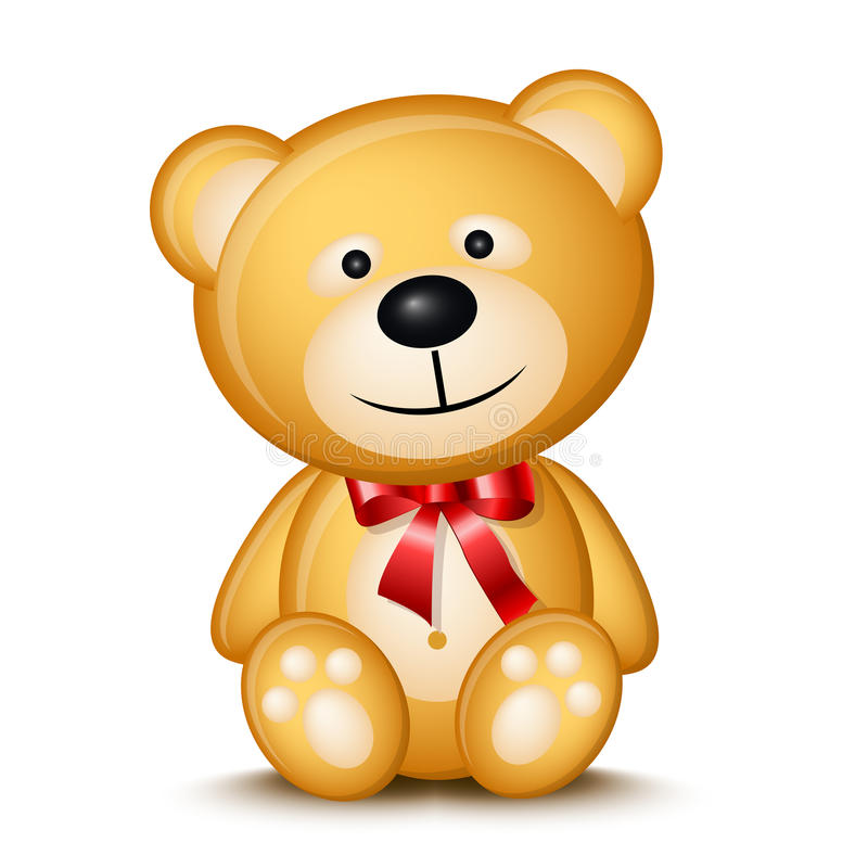 Download Teddy bear stock vector. Image of child, young, babyish - 11805853
