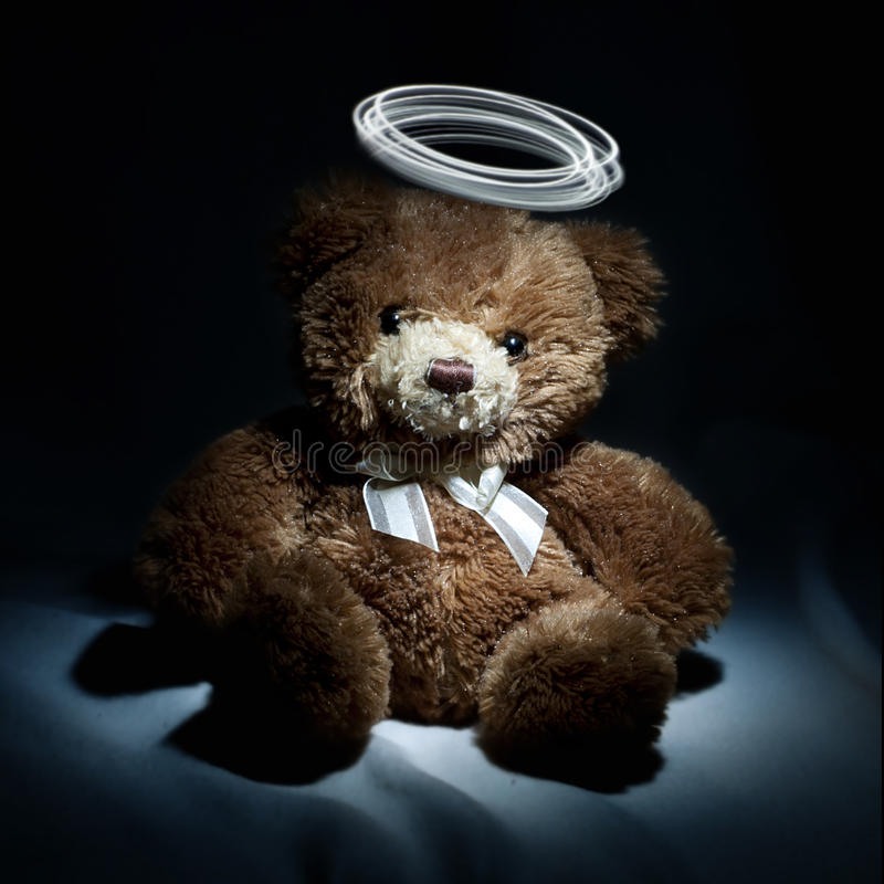 Download Teddy bear stock photo. Image of plush, soft, small, evening - 26576790