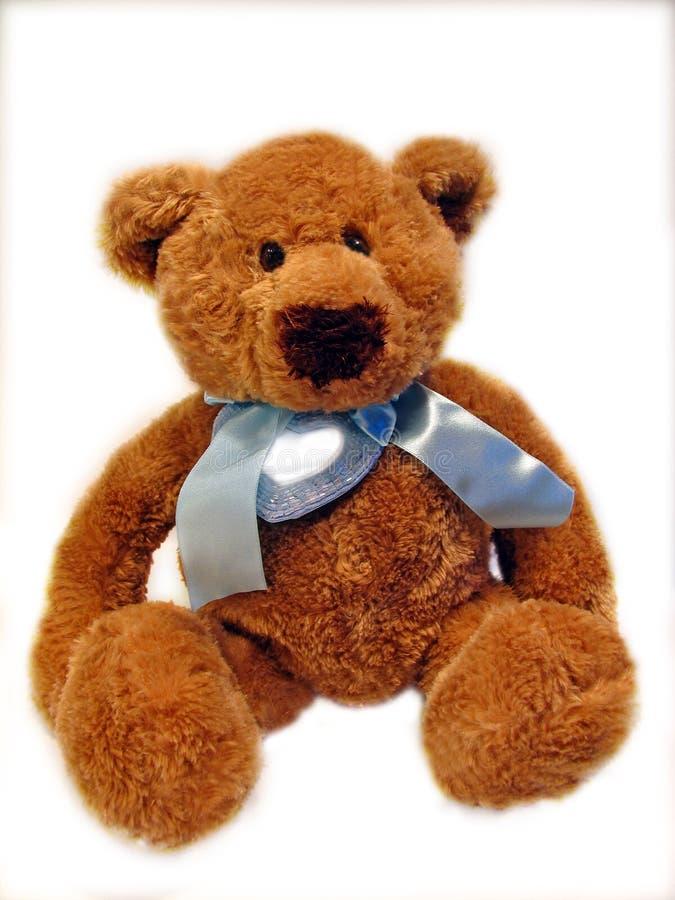 Teddy bear. Photo of a little teddy bear stock images