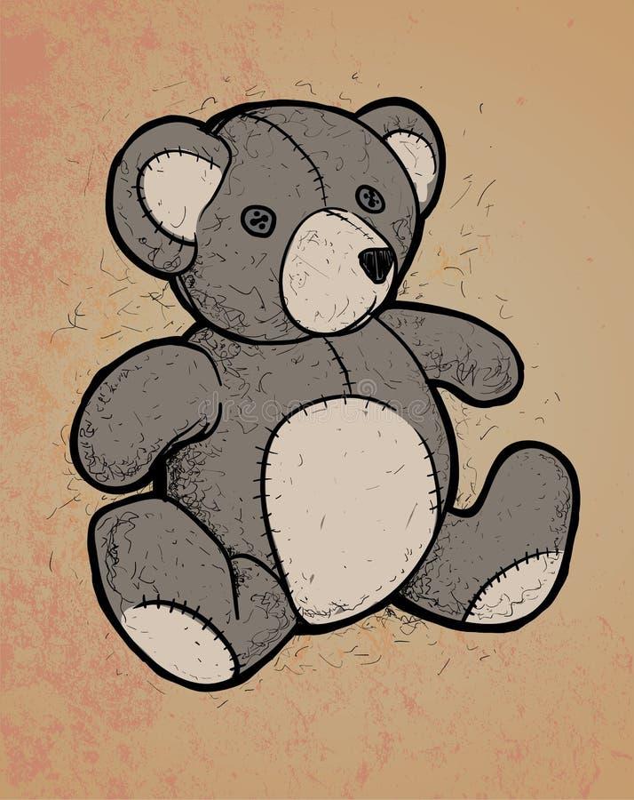 Teddy Bear ilustración del vector