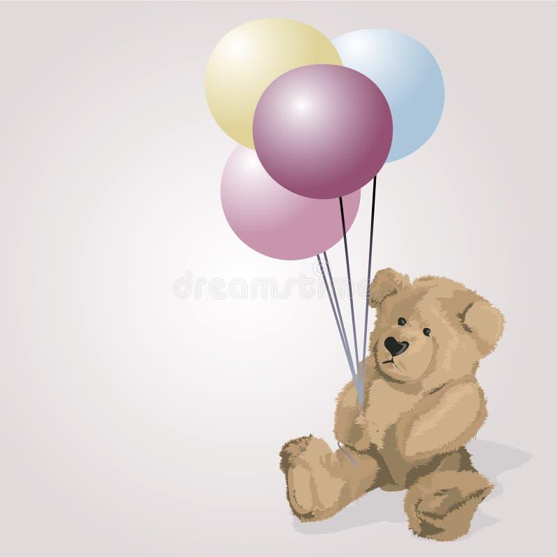 Teddy Bear. Illustration vector illustration