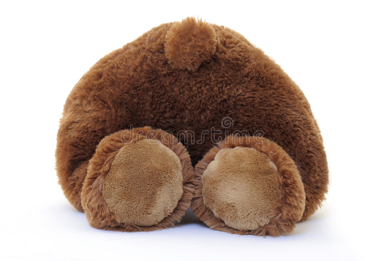 Teddy Bear Stock Image. Image Of Over, Tail, Back